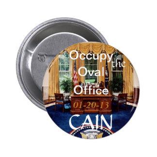 O-O-O Cain Oval Office Button