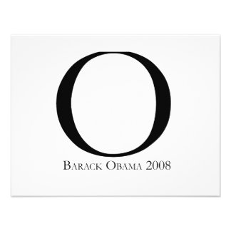 O Obama for President T-shirt Invite