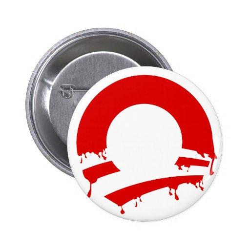O (Obama V) Pinback Buttons