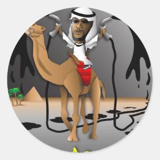 O of Arabia Classic Round Sticker