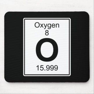 O - Oxygen Mouse Pad
