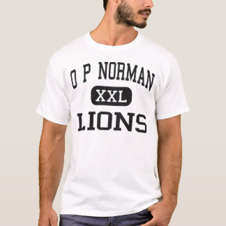 O P Norman - Lions - Junior - Kaufman Texas T-Shirt