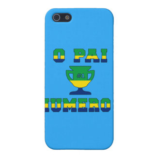 O Pai Número 1 - Number 1 Dad in Brazilian iPhone SE/5/5s Cover