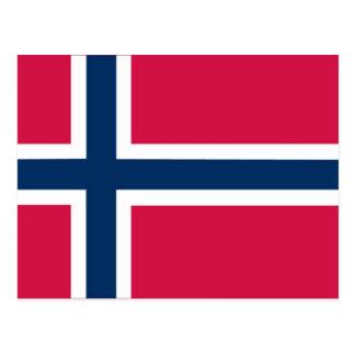 """""""O"""" para las tarjetas flash noruegas/del ovn Postal"""