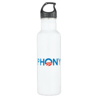 O Phony (2) Faded.png 24oz Water Bottle