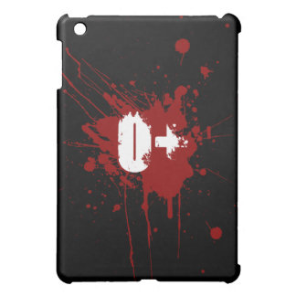 O Positive Blood Type Donation Vampire Zombie iPad Mini Case