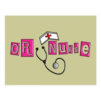 O regalos de la enfermera postal