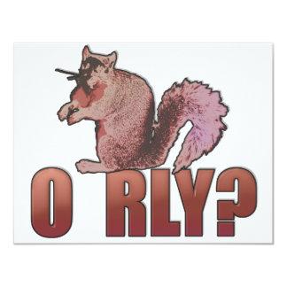 O RLY Squirrel Card