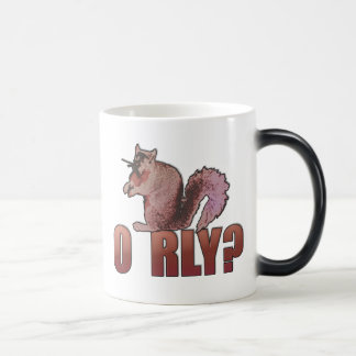 O RLY Squirrel Magic Mug