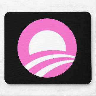 O rosado alfombrillas de ratón