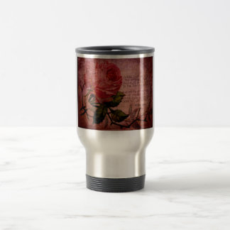 O Rose Thou Art Sick Travel Mug