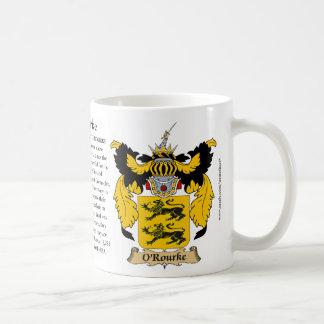 O'Rourke Family Coat of Arms Coffee Mug