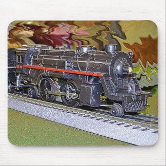 O Scale Model Train Mouse Pad