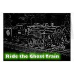 O Scale Model Train - Ride the Ghost Train Cards