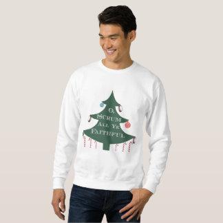 """O Scrum All Ye Faithful"" Holiday Sweatshirt"