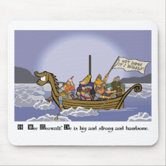 O See Beowulf Mouse Pad