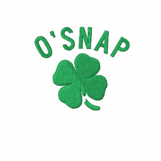 O SNAP EMBROIDERED HOODIES