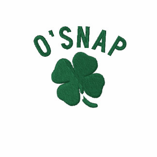 O SNAP EMBROIDERED HOODY