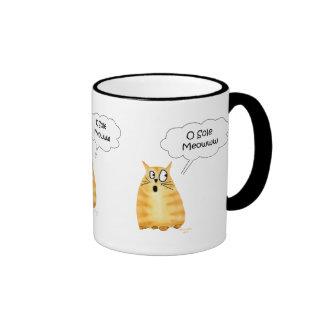 O Sole Meow Mug