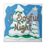O Soyful Night Ceramic Tile