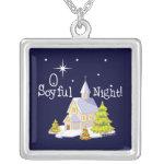 O Soyful Night Christmas Custom Jewelry