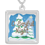 O Soyful Night Personalized Necklace