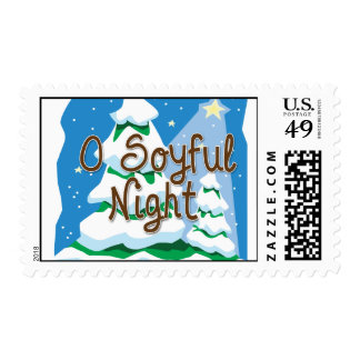 O Soyful Night Postage Stamp
