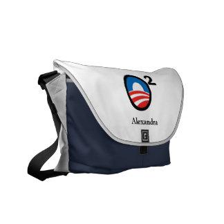O Squared Obama s Second Term Courier Bag