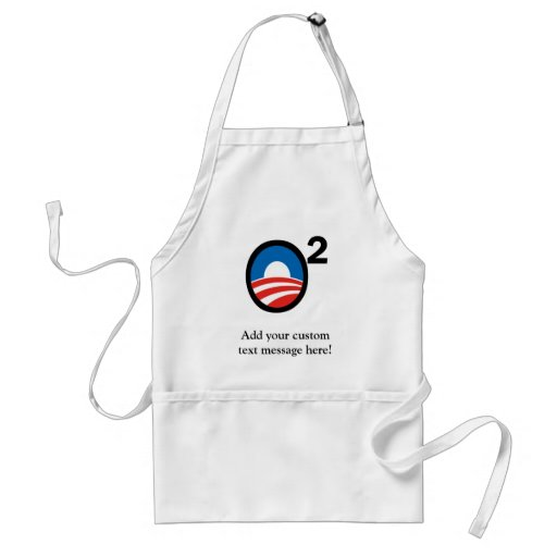 O Squared Obama's Second Term Adult Apron