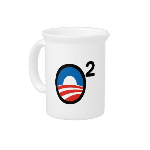 O Squared Obama's Second Term Beverage Pitcher