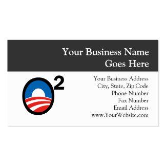 O Squared Obama's Second Term Business Cards