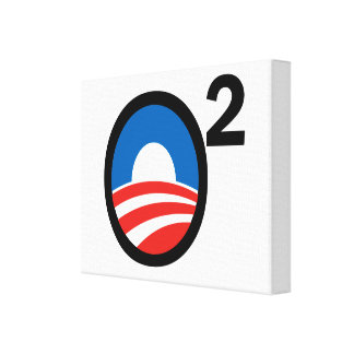 O Squared Obama's Second Term Canvas Print