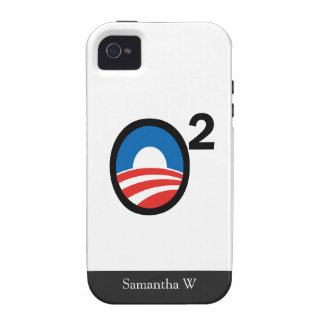 O Squared Obama's Second Term Case-Mate iPhone 4 Covers