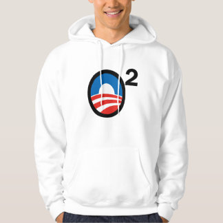 O Squared Obama's Second Term Hoodie