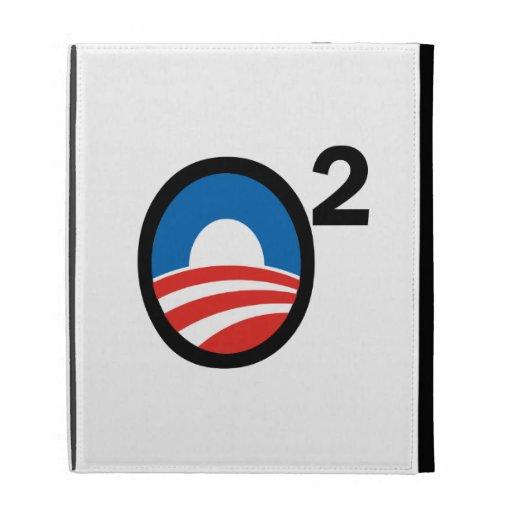 O Squared Obama's Second Term iPad Folio Cover
