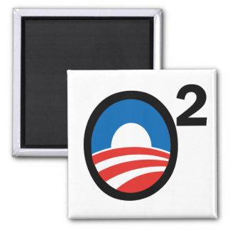 O Squared Obama's Second Term Refrigerator Magnets