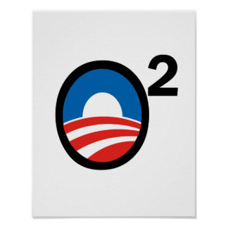 O Squared Obama's Second Term Poster
