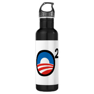 O Squared Obama's Second Term Stainless Steel Water Bottle