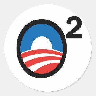 O Squared Obama's Second Term Stickers