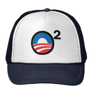 O Squared Obama's Second Term Trucker Hat