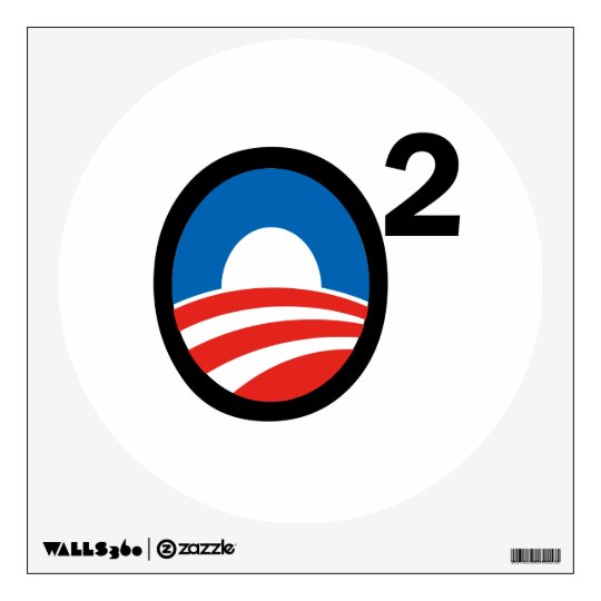 O Squared Obama's Second Term Wall Decal