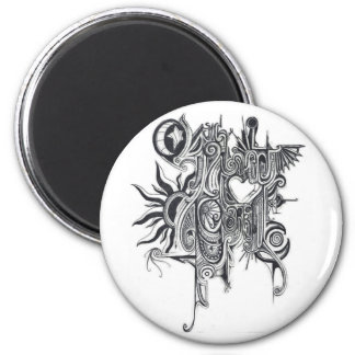 O Such Sweet Sorrow 2 Inch Round Magnet
