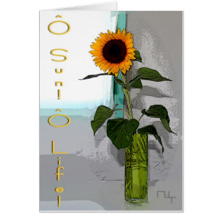 ô sun! ô life! card
