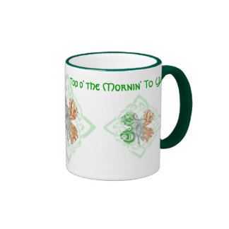 O superior el Mornin a la taza de Ya