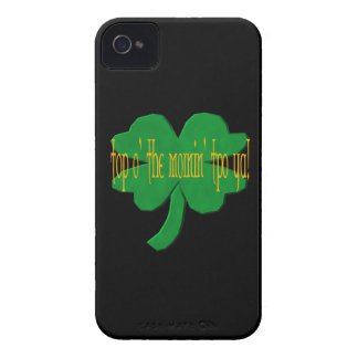 O superior el Mornin a Ya iPhone 4 Carcasas