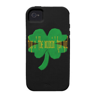 O superior el Mornin a Ya Case-Mate iPhone 4 Fundas