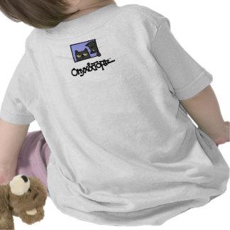 O T-Camisa con el Topaz listo para atacar