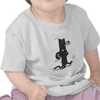 O T-Camisa con ónix en la cabeza del Topaz