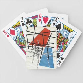 O. T.(Croisement de droites) Sophie Taeuber-Arp Bicycle Playing Cards