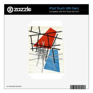 O. T.(Croisement de droites) Sophie Taeuber-Arp iPod Touch 4G Decals
